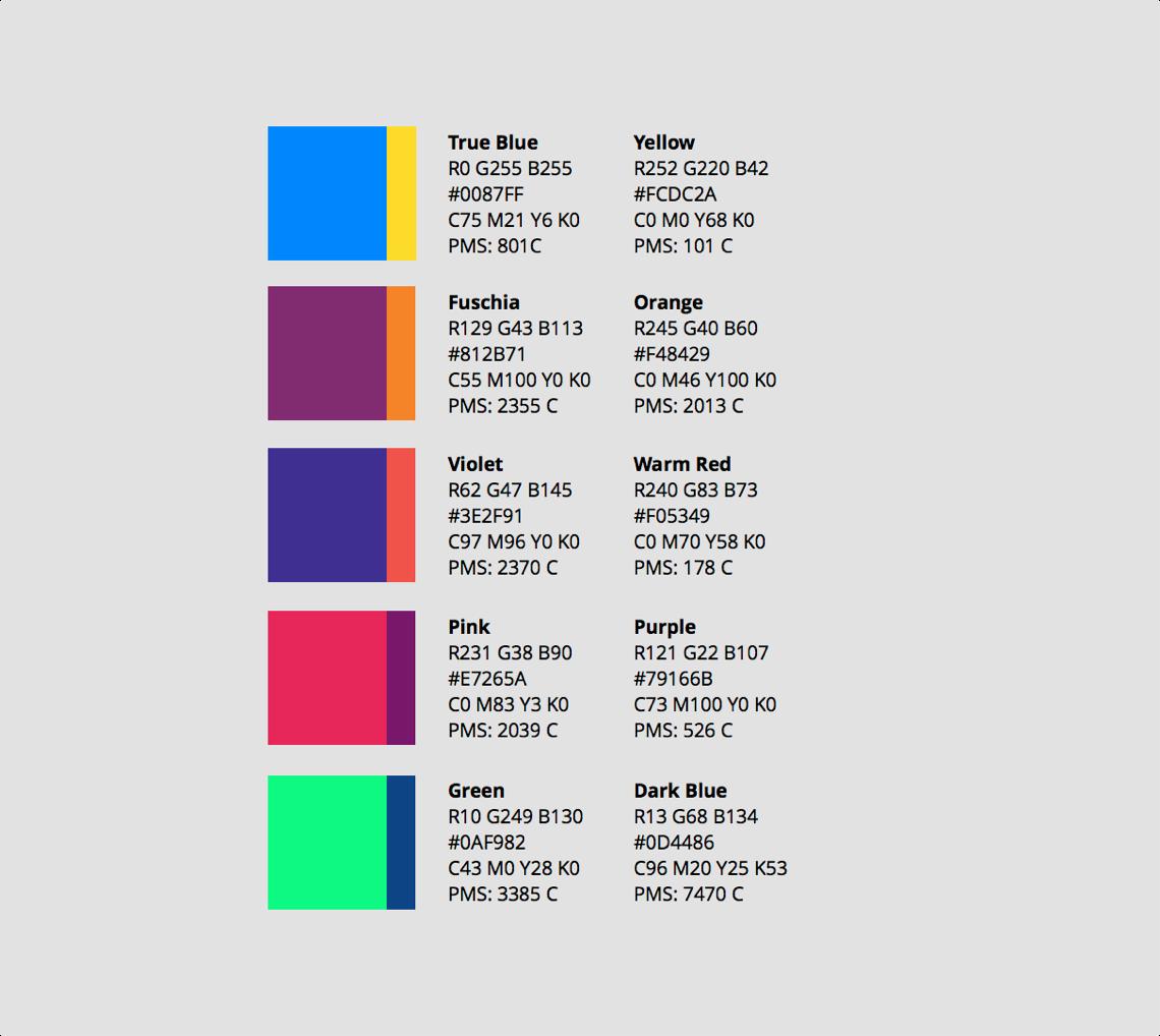 Secondary palette